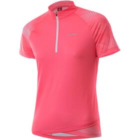 Löffler Rise 3.0 Half-Zip Bike Shirt Women, rojo
